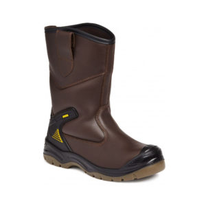 Apache Waterproof Safety Rigger Boots AP305
