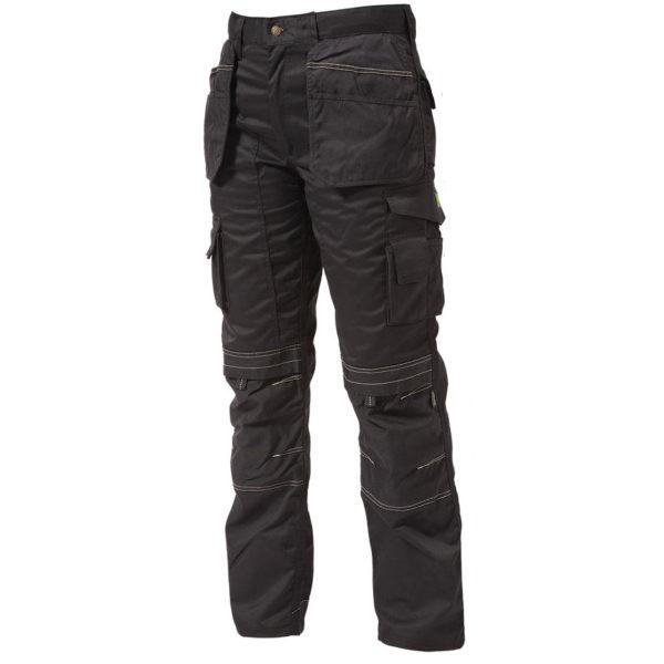 Apache Kneepad Holster Trousers Black