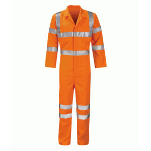 Black Knight Apollo Hi-Vis Railway Coveralls