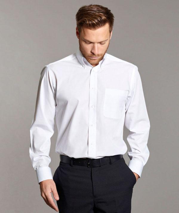 Disley Ballymena Long Sleeve Button Down Collar Shirt