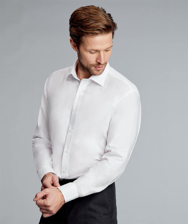 Disley Craigavon Cutaway Collar Oxford Shirt