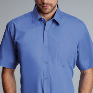 Disley Larne Cotton Rich Short Sleeve Shirt
