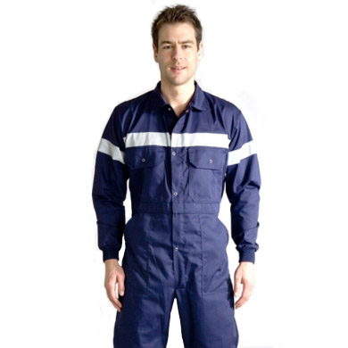 Europa Reflective Overall Navy Blue