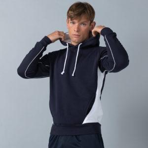 Finden & Hales Contrast Hooded Sweatshirt LV335