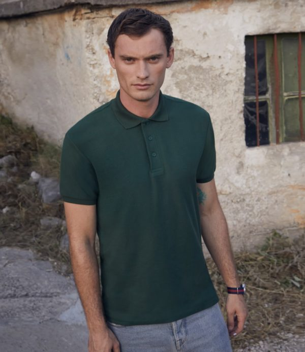 Fruit of the Loom Heavy Poly-Cotton Polo Shirt SS27