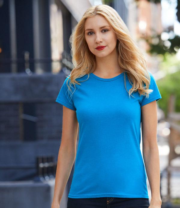 Gildan Ladies Premium Cotton T-Shirt GD90