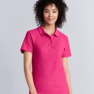 Gildan Ladies SoftStyle Double Pique Polo Shirt GD75