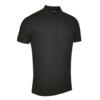 Glenmuir Classic Fit Pique Polo Shirt GM27 Black
