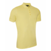 Glenmuir Classic Fit Pique Polo Shirt GM27 Light Yellow