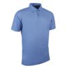 Glenmuir Performance Pique Polo Shirt GM77 Light Blue