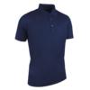 Glenmuir Performance Pique Polo Shirt GM77 Navy Blue