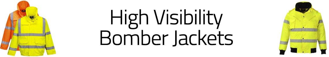 Hi-Vis Bomber Jackets