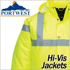 Portwest Hi-Vis Jackets