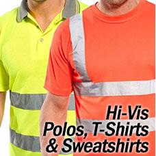 Hi Vis Polos T-Shirts and Sweatshirts