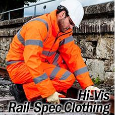 Hi Vis Rail Spec Clothing
