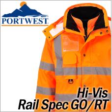 Portwest Hi-Vis Rail Spec