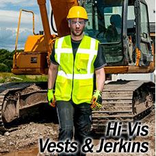 Hi Vis Vests and Jerkins