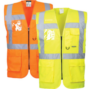 Portwest Berlin Executive Hi-Vis Vest S476