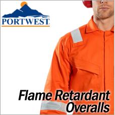 Portwest Flame Retardant Overalls