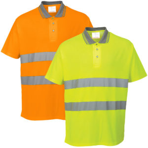 Portwest Hi-Vis Cotton Comfort Polo Shirt S171