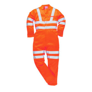 Hi-Vis GO/RT Poly-Cotton Overall RT42 Portwest
