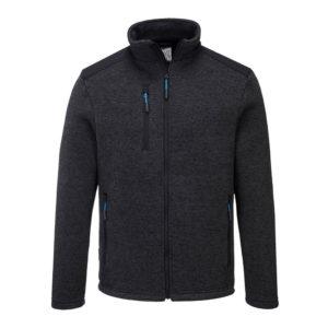 Portwest KX3 Venture Fleece Jacket T830 Grey Marl
