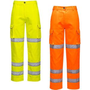 Portwest Ladies Hi-Vis Trousers LW71
