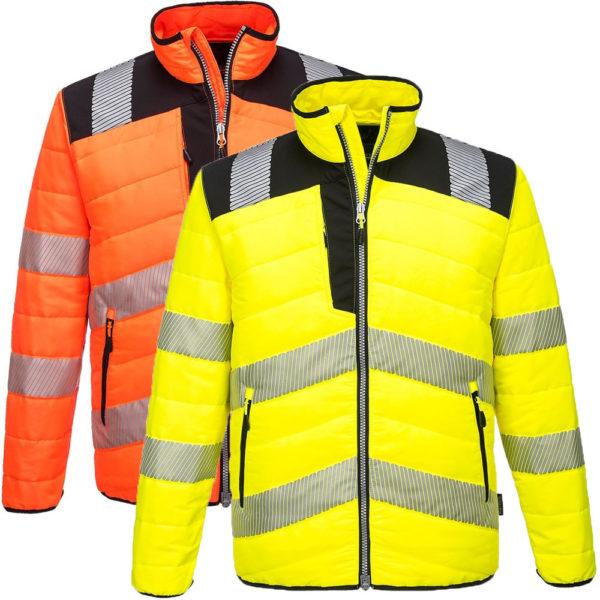 Portwest PW3 Hi-Vis Baffle Jacket PW371