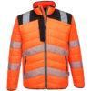 Portwest PW3 Hi-Vis Baffle Jacket PW371 Orange