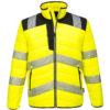 Portwest PW3 Hi-Vis Baffle Jacket PW371 Yellow