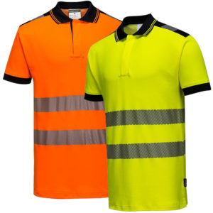 Portwest PW3 Hi-Vis Polo Shirt T180