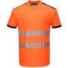 Portwest PW3 Hi-Vis T-Shirt T181 Orange