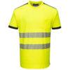 Portwest PW3 Hi-Vis T-Shirt T181 Yellow