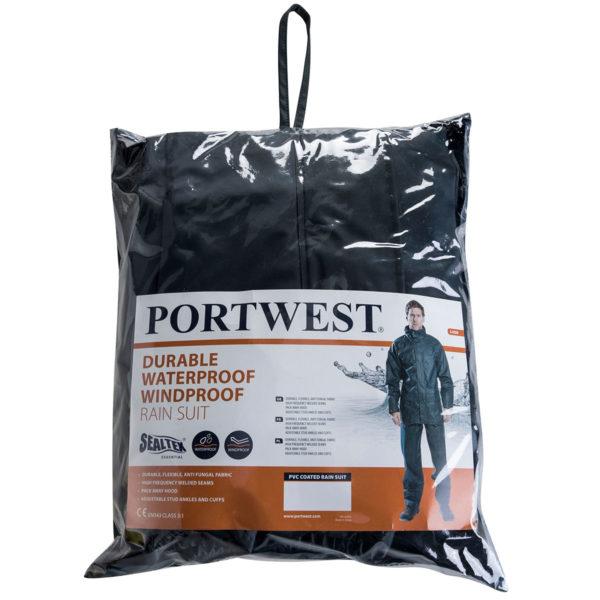 Portwest Sealtex Essential Rain Suit 2 Piece Suit L450
