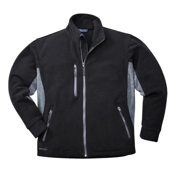 Texo Contrast Fleece Jacket TX40 Portwest