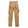 Portwest Texo Contrast Work Trousers TX11 Khaki