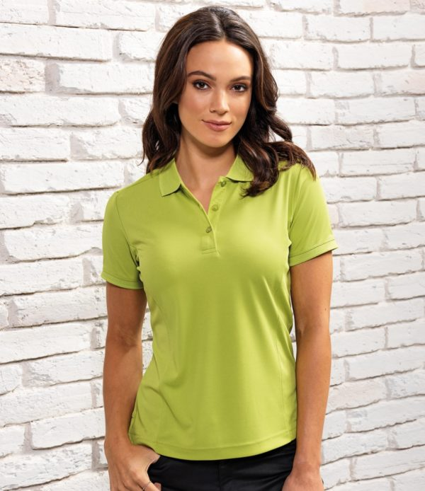 Premier Ladies Coolchecker Pique Polo Shirt PR616
