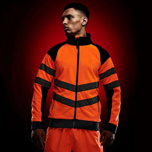 Regatta Hi Vis Pro Fleece Jacket TRF525
