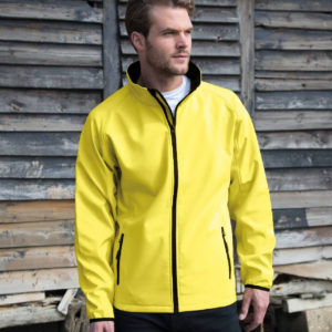 Result Core Printable Soft Shell Jacket RS231M