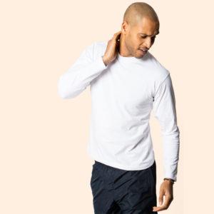 Uneek Mens L/Sleeve Classic T-Shirt UC314