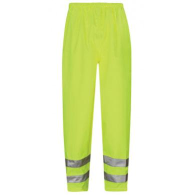 Viking Hi-Vis Waterproof Overtrousers Yellow