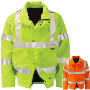 Gore-tex Colorado Lined High Vis Bomber Jacket