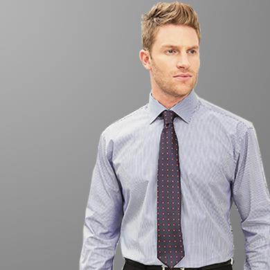 Disley Mens Business Stripe Shirt